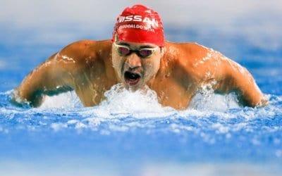 Nadador profissional: uma vida de garra e superação