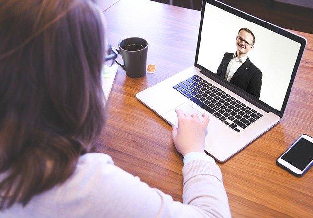 videochamadas em home office